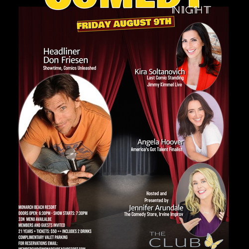 Stand Up Comedy | Los Angeles | Entertainer