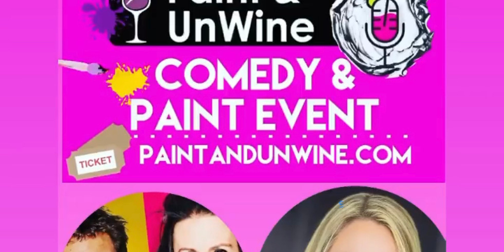 Comedy, Paint and Wine
