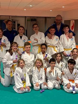 Regroupement Veigy Judo et Chamonix Judo - Paques 2019