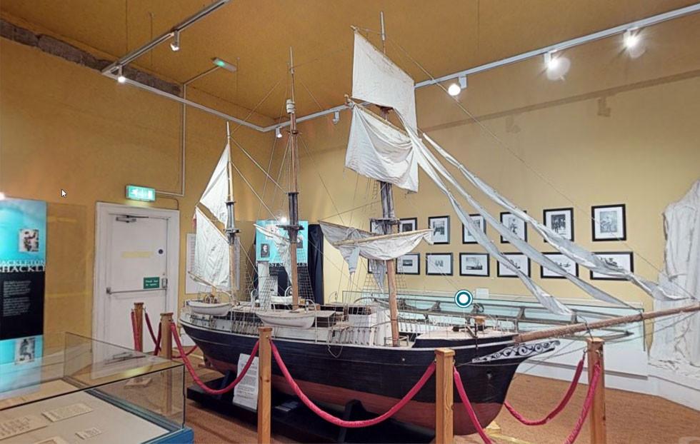 Virtuelle Tour Museeum Ausstellung Sehenswürdigkeit