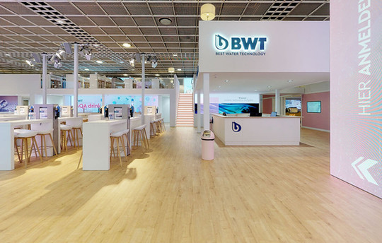 Virtuelle Touren Messestände (bis 4000 m²)