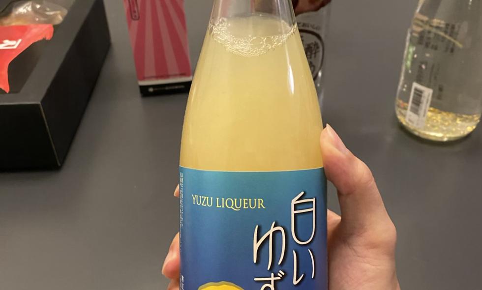 柚子乳酸味果酒720ml