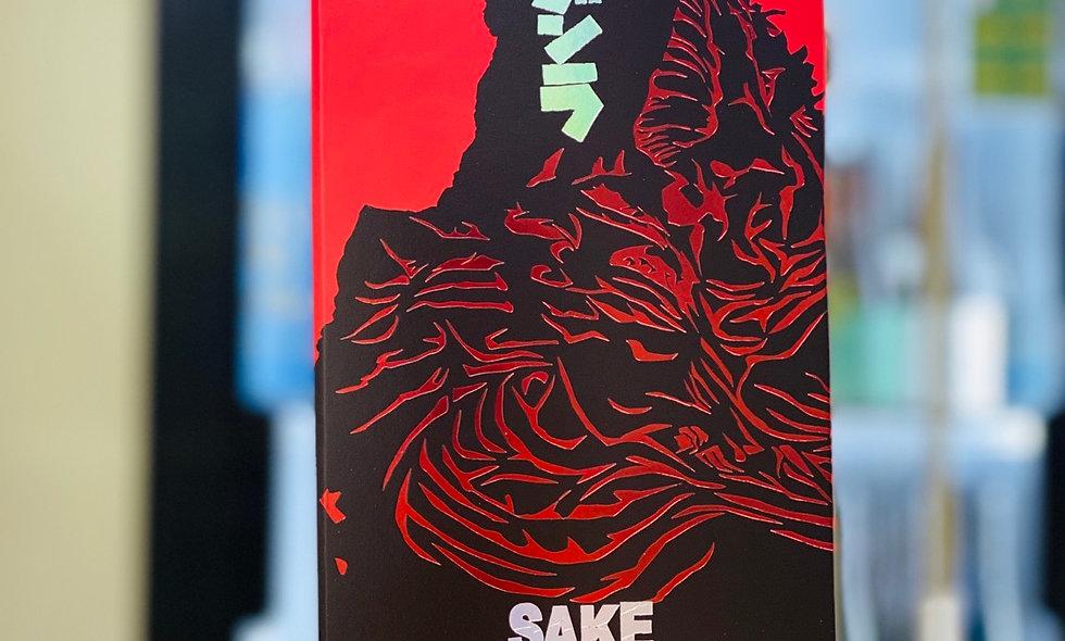 人氣一酒造哥斯拉純米大吟釀連特別版poster