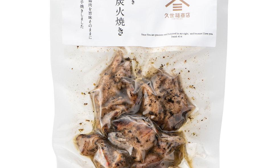 久世福七輪炭火焼鷄香草味80g