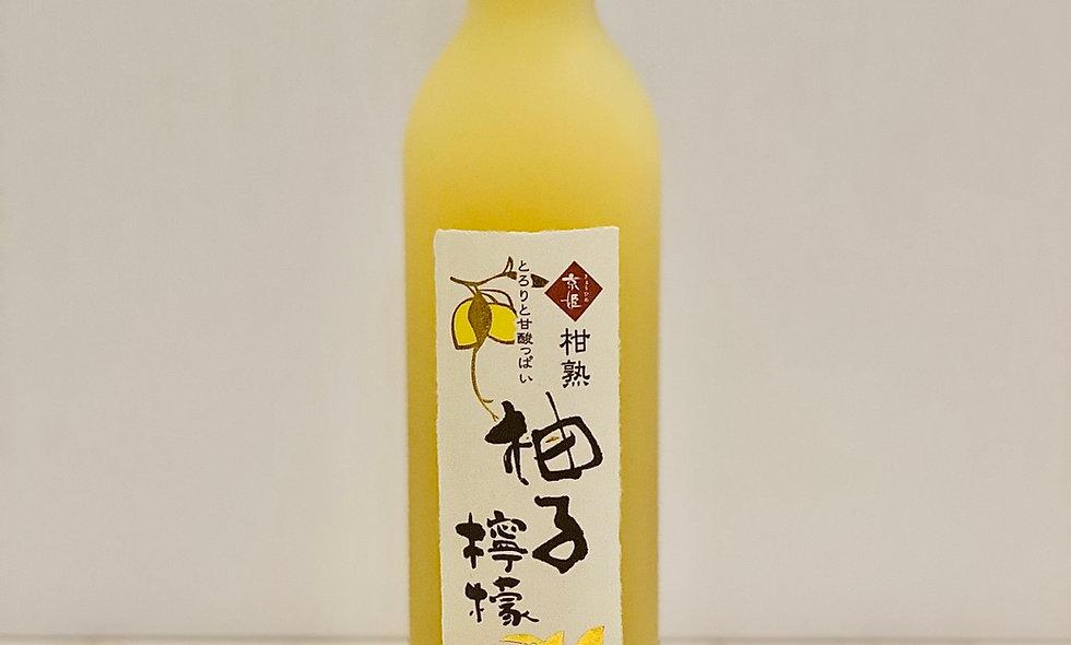 京姬酒造柑熟柚子檸檬酒500ml