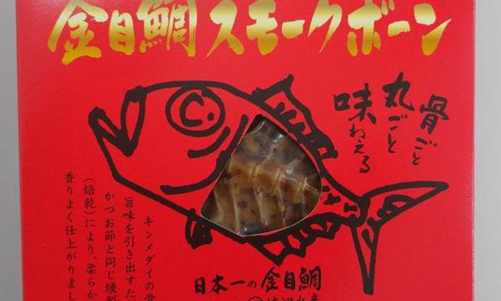 煙燻金目鯛魚骨35g裝