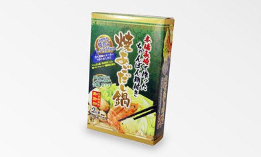 長崎燒飛魚鍋湯底二人份量附送拉麵
