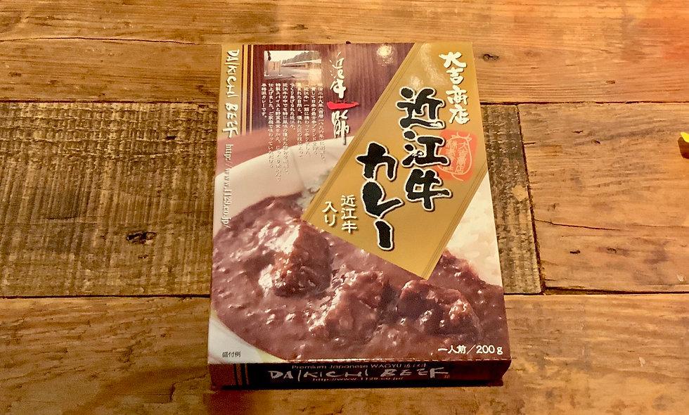 大吉商店近江和牛即食咖哩