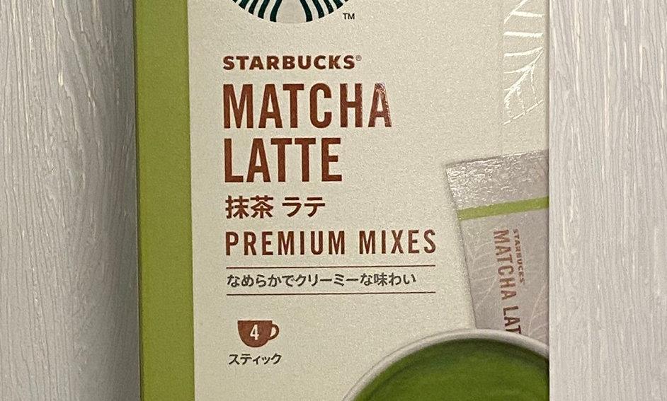 日版Starbucks 抹茶拿鐵四包入