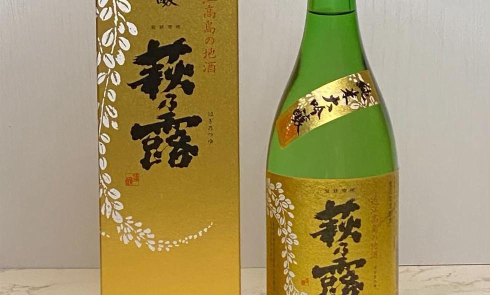 萩乃露純米大吟釀金Label720ml
