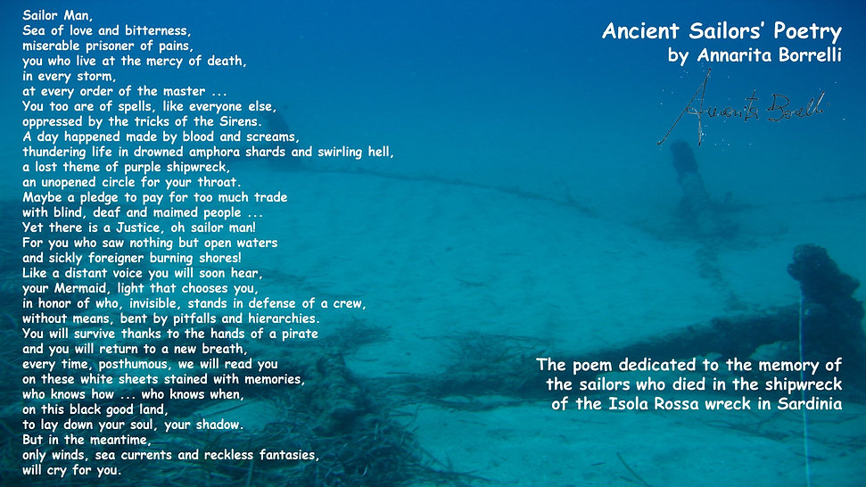 ancient sailors poetry
