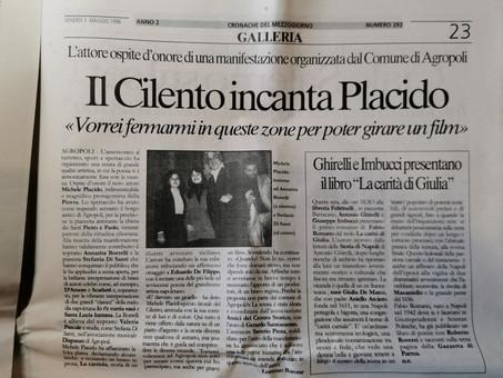 Annarita Borrelli canta con Michele Placido