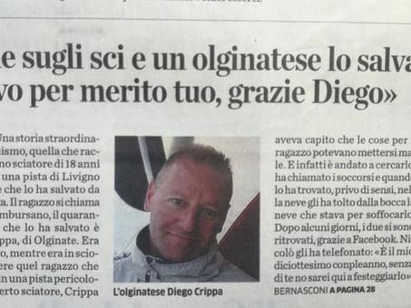 La provincia di Lecco 21 Marzo 2014: Una storia di straordinario altruismo.