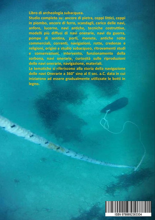 archeologia subacquea retro copertina