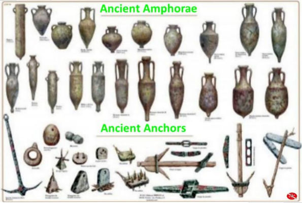 Ancient Amphorae and Anchors