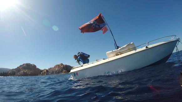 Dep Bonnet e la sua barca