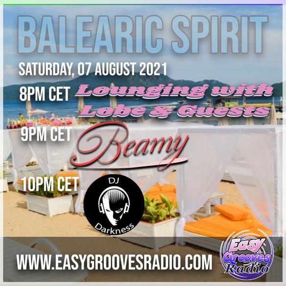 Tonight 8.00 pm cet Balearic spirit 11