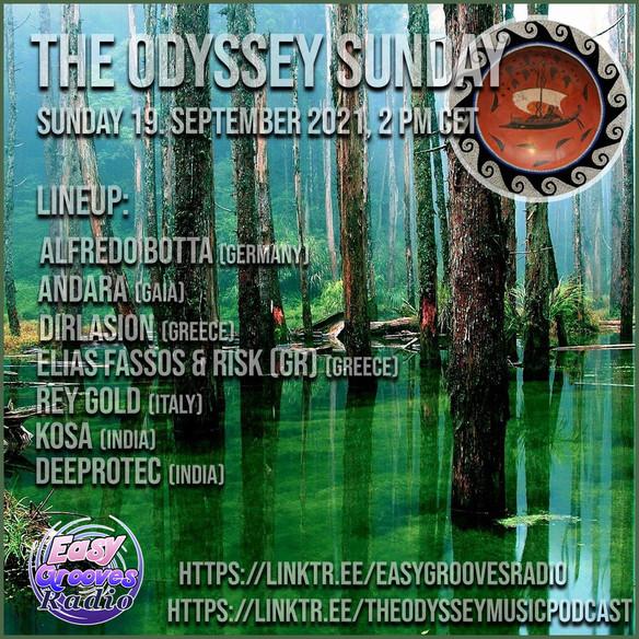 Today 2.00 pm CET Odyssey Sunday 8