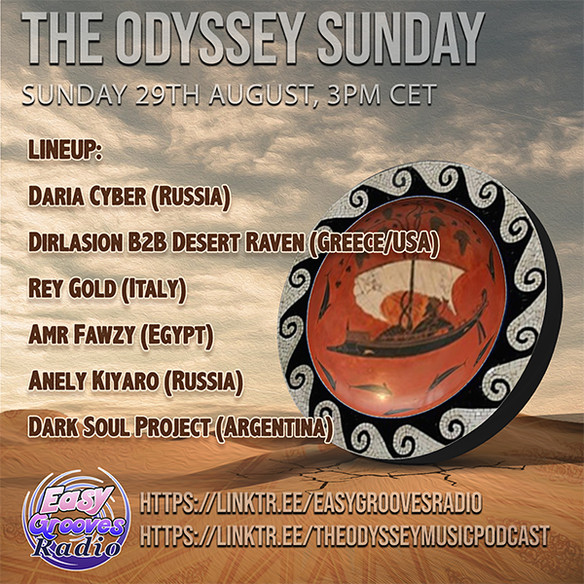 today 3.00 pm CET Odyssey Sunday