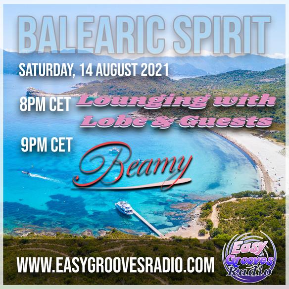 Tonight 8.00 pm cet Balearic Spirit 12