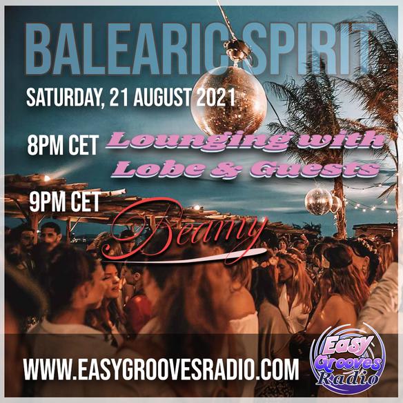Tonight 8.00 pm CET Balearic spirit 13