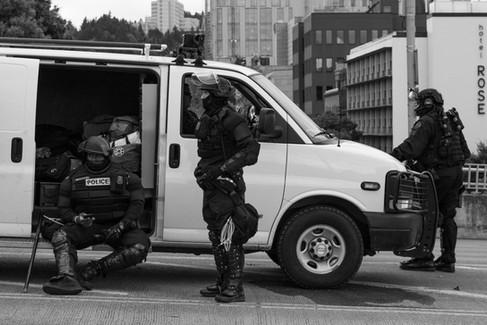 Portland Demonstrations 8-17 - Photo by.