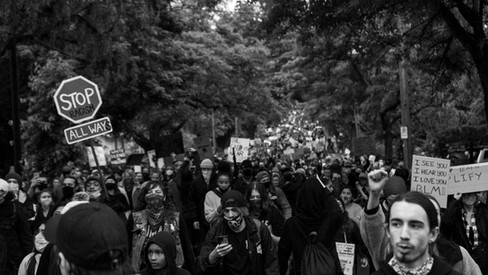 PDX Protests - June 8 - Photo by Aaron J