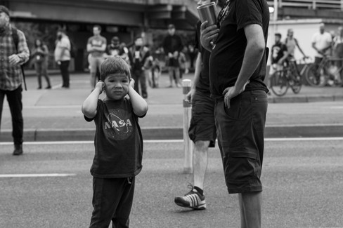 Portland Demonstrations 8-17 - Photo by(