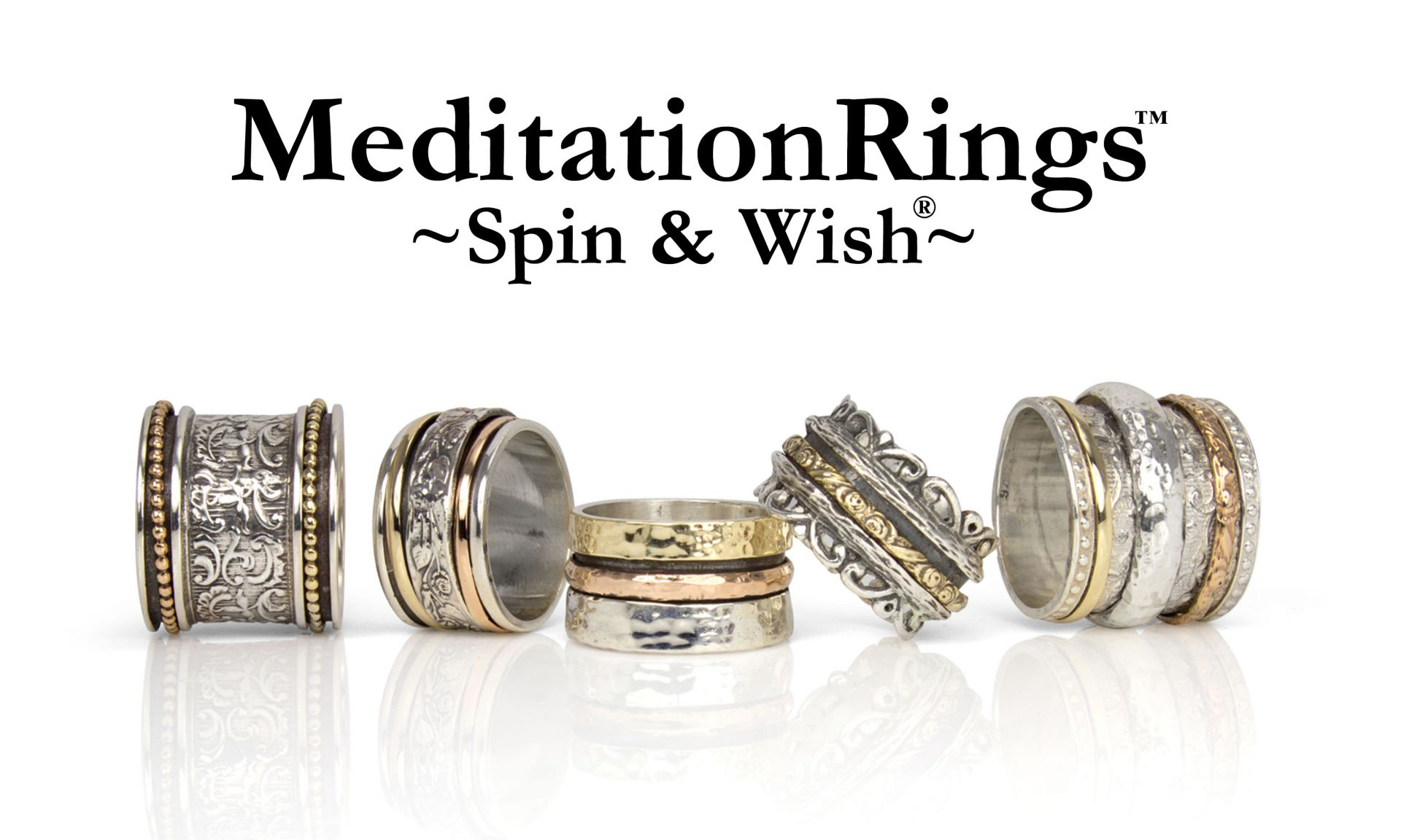 Meditation Rings - Spin & Wish