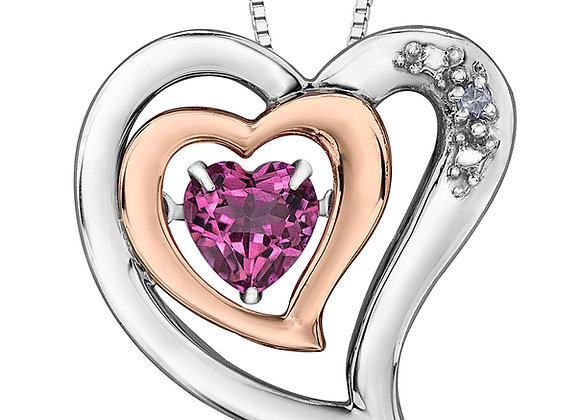 PULSE - Heart Pendant and Chain