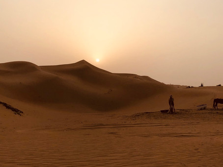 Dubai Desert or the Hottest Place after the Sun