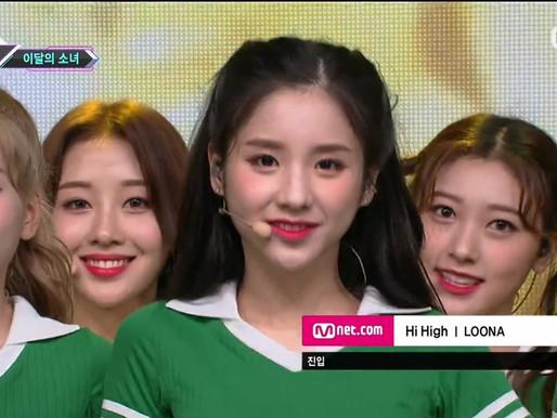 2018.08.30. M Countdown LOONA - Hi High