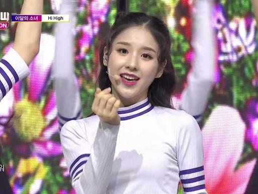 2018.09.19. Show Champion LOONA - Hi High