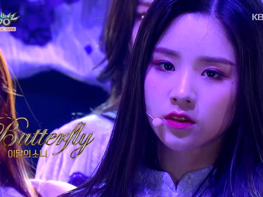 2019.03.22. Music Bank LOONA - Butterfly