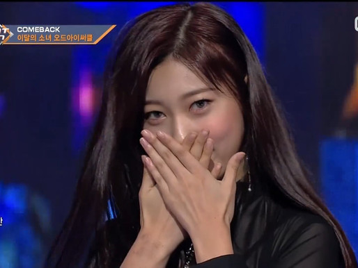 2017.11.02. M Countdown LOONA ODD EYE CIRCLE - Sweet Crazy Love