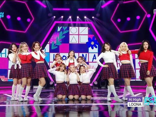 2018.10.13 Show! Music Core LOONA - Hi High