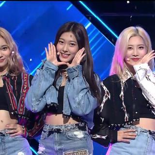 2017.09.28. M Countdown - LOONA ODD EYE CIRCLE - Girl Front