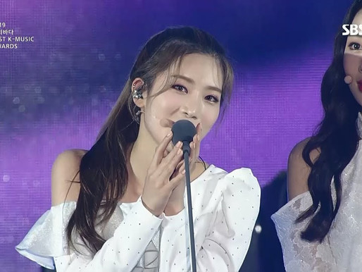 2019.08.22. 2019 SORIBADA BEST K-MUSIC AWARDS LOONA