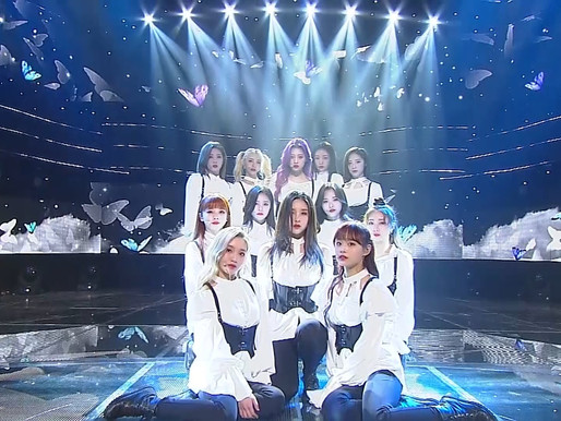 2019.03.10. Inkigayo LOONA - Butterfly