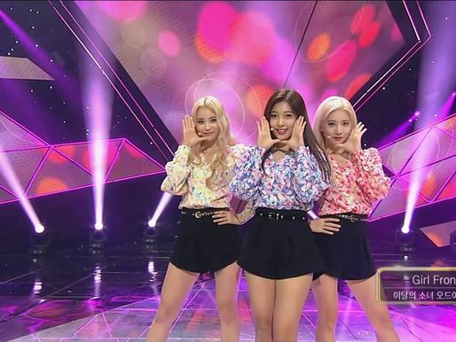 2017.09.24. Inkigayo LOONA ODD EYE CIRCLE - Girl Front