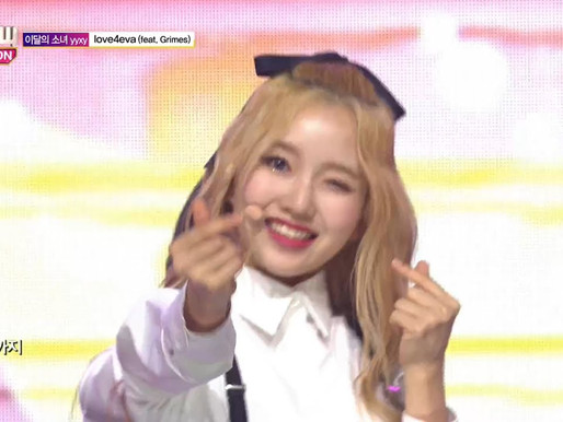 2018.06.27. Show Champion LOONA yyxy - love4eva