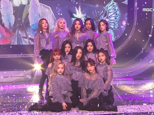 2019.03.06. Show Champion LOONA - Butterfly
