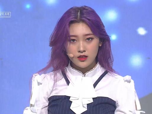 2019.03.24. Inkigayo LOONA - Butterfly