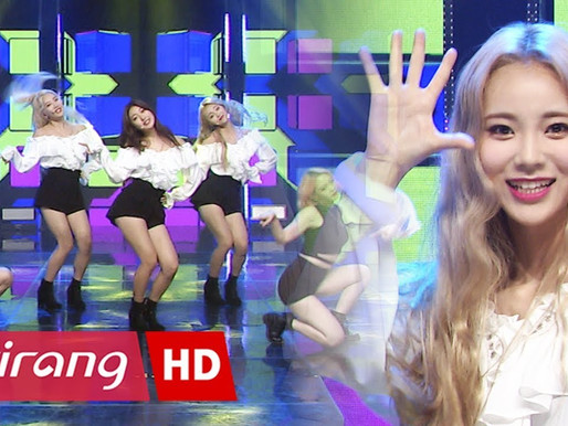 2017.10.13. Simply K-Pop LOONA ODD EYE CIRCLE - Girl Front