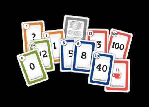 Planning Poker Kaarten