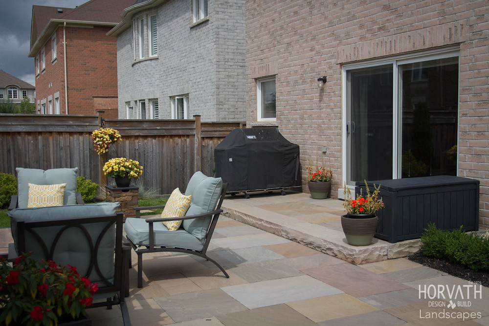 Patio Pavers Brought to us from India where they mine and process the absolute most durable patio and walkway stone. It doesn't flake or chip easily and you can throw as much salt as you want on it in the winter without causing pitting or any damage at all. Thanks India!