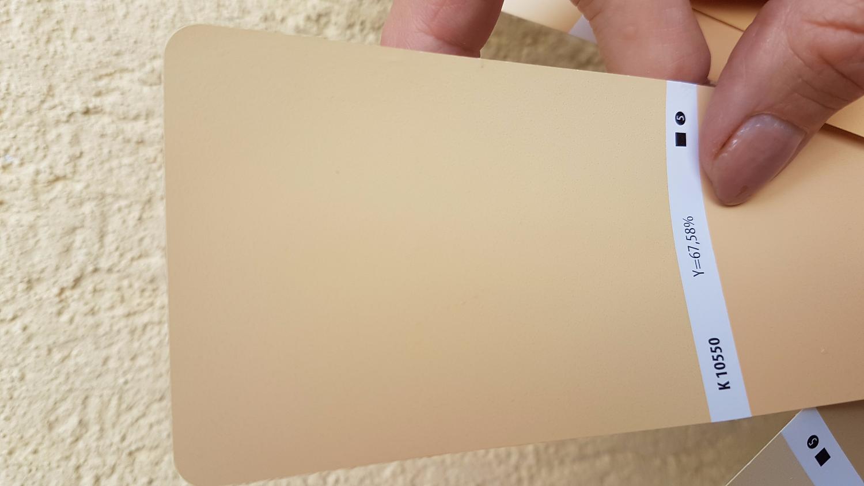 dobieranie koloru przy użyciu wzornika kolorów
