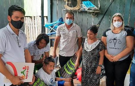 Assistência Social e Vereadores fazem visitas a famílias carentes do bairro Cascata e Bela Vista