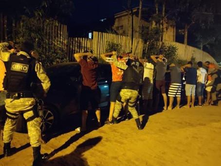 PM de Assis Brasil realiza operação Cidade Tranquila