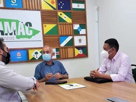 Prefeito Jerry busca parceria com a Prefeitura de Rio Branco